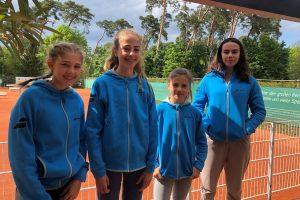 Unsere Tennisjugend beginnt mit Medenspielen