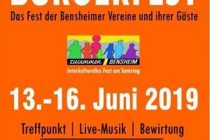 Bürgerfest am Hospitalbrunnen