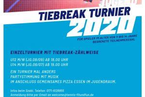 Tiebreak Turnier 16.02.2020