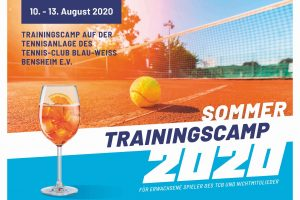 Tenniscamp ab 10.8. UPDATE