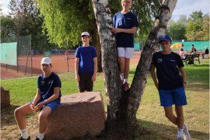 Junioren U14III werden Kreismeister