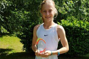 Starker Platz 3 für Lara-Sophie Kohr